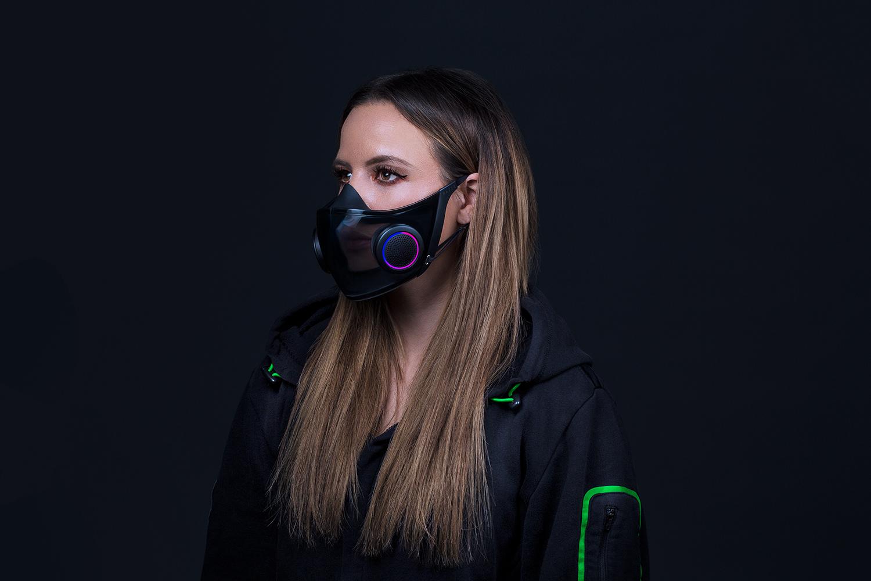 Razer выпустит маску с RGB-подсветкой и усилителем голоса
