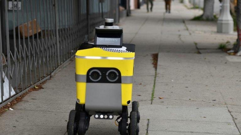 Uber запустит компанию по производству роботов-курьеров Serve Robotics