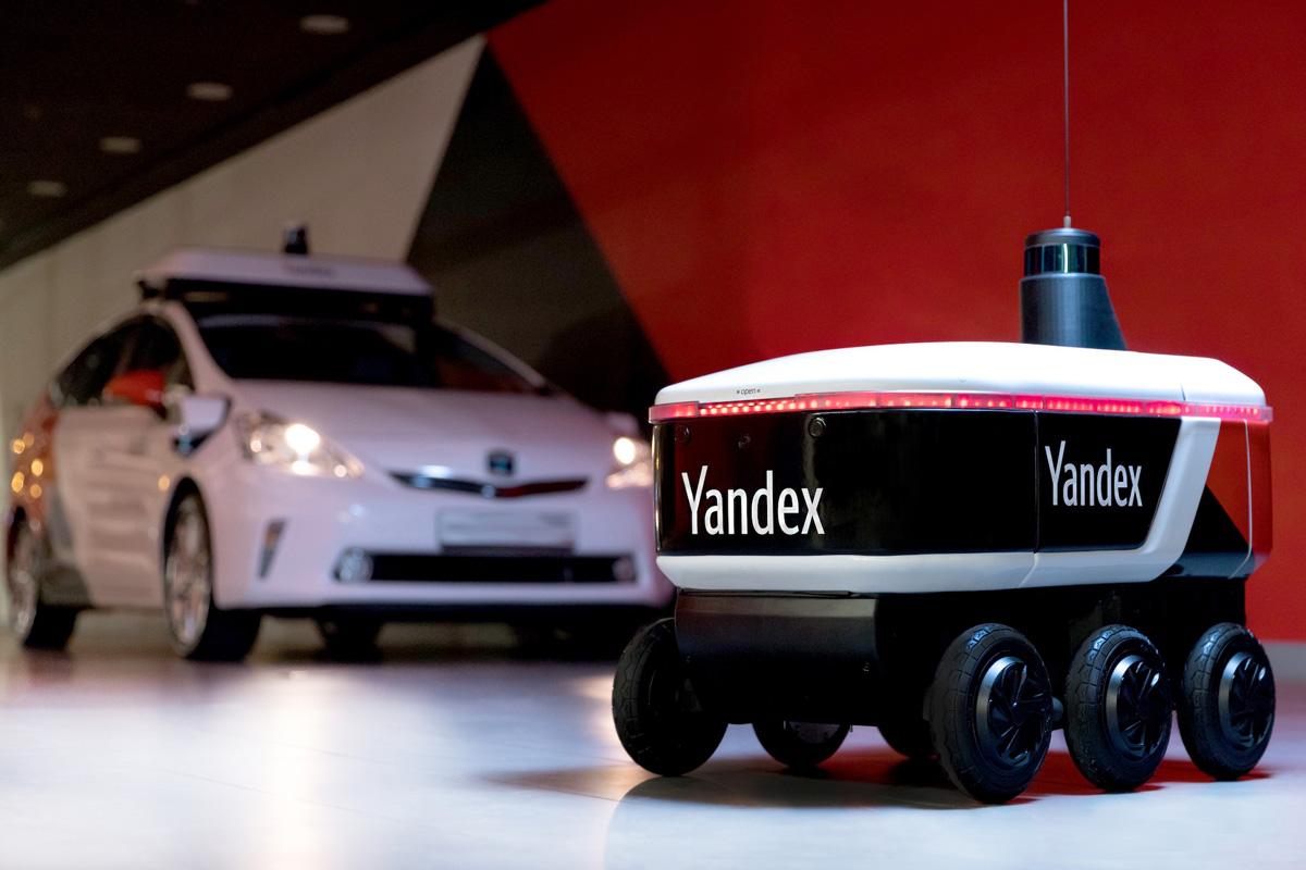 «Яндекс» протестирует доставку роботами-курьерами в США, Израиле и Южной Корее