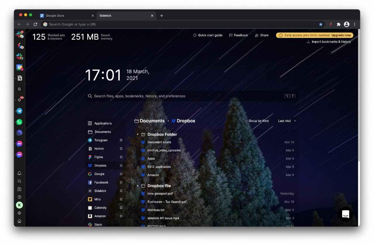 Созданный россиянином браузер для работы Sidekick привлек $2 млн от американских инвесторов