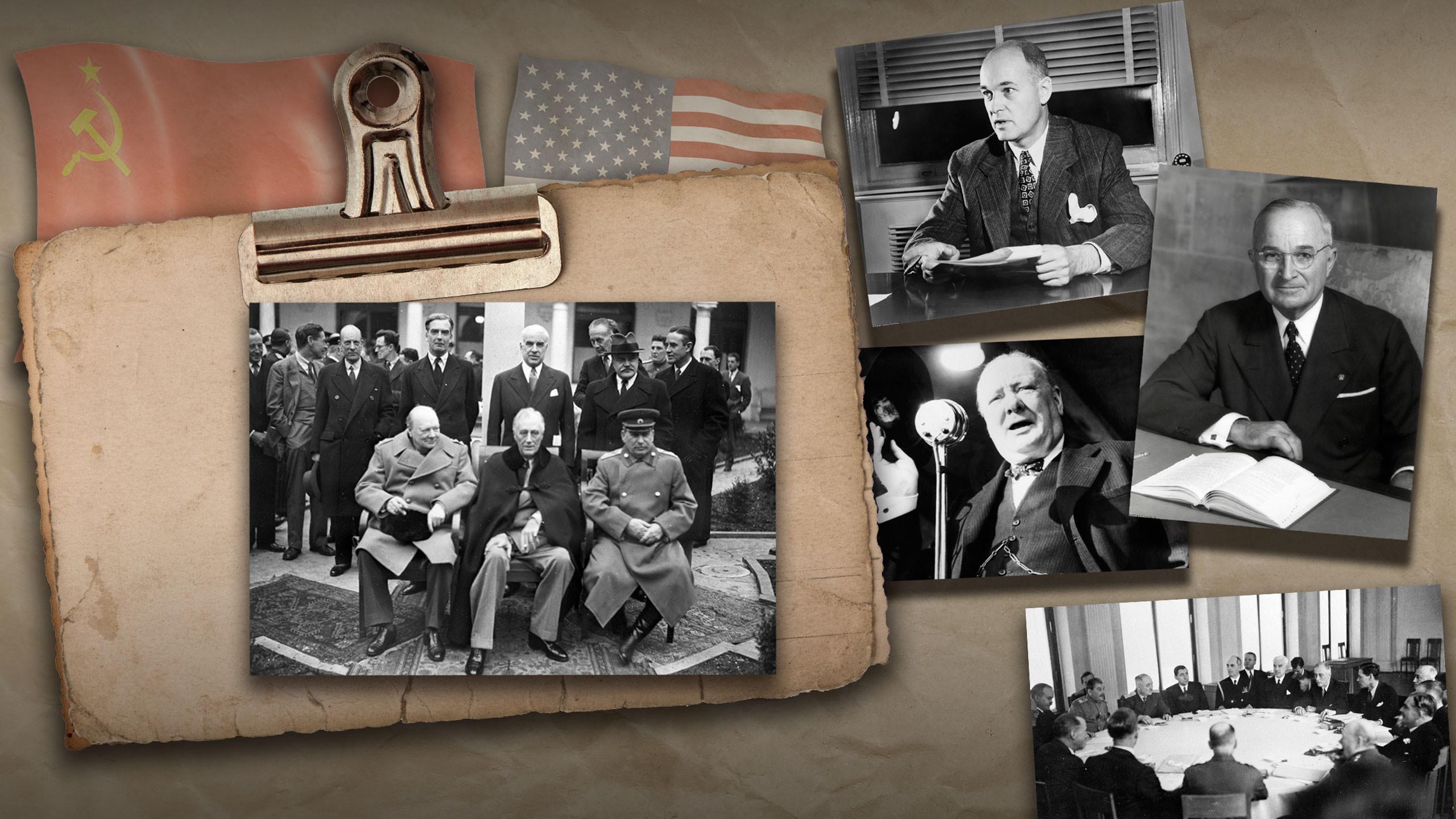 Невидимая граница: как 75 лет назад началась холодная война