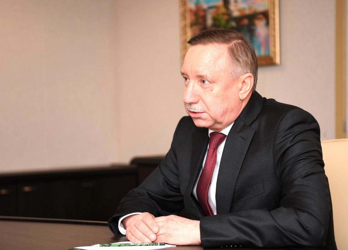Губернатор Беглов: Петербург совсем немного отделяет от полного локдауна