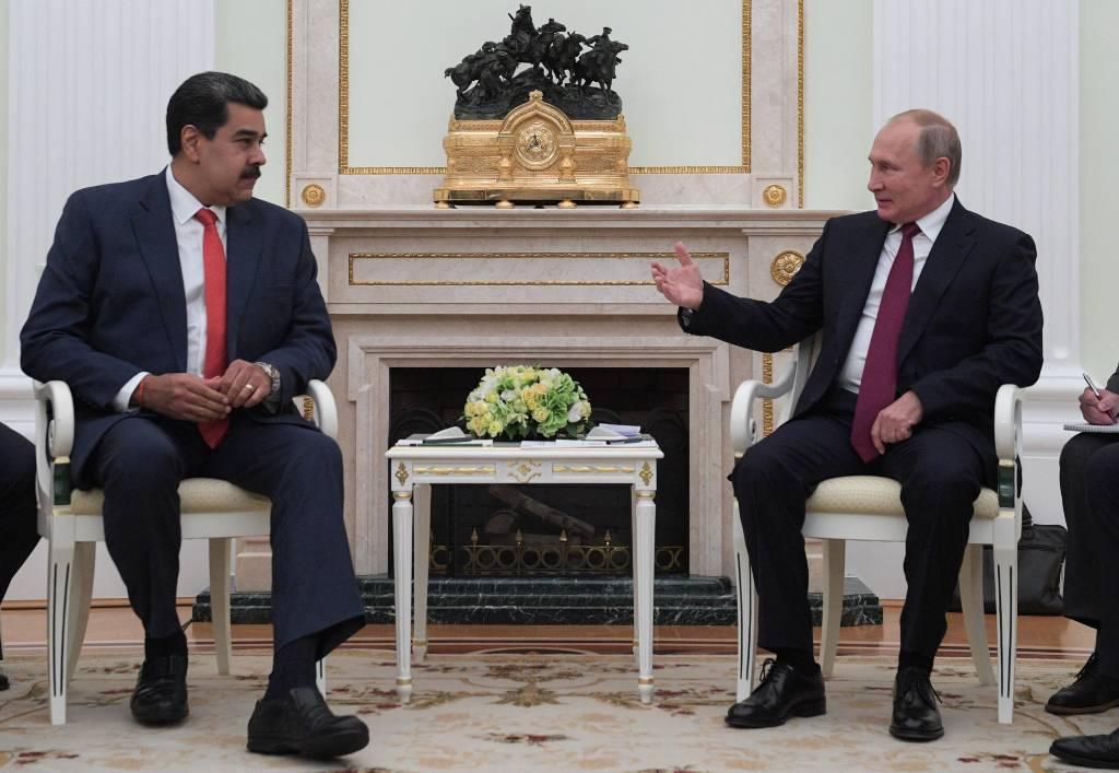 Мадуро заявил, что хочет приехать в Россию и встретиться с Путиным