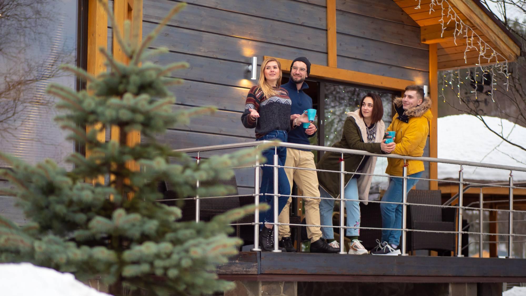 Коттедж на Новый год. Куда выгоднее поехать отдыхать в России