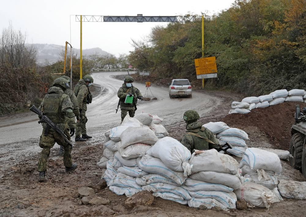 Минобороны России сообщило о первом нарушении режима прекращения огня в Карабахе
