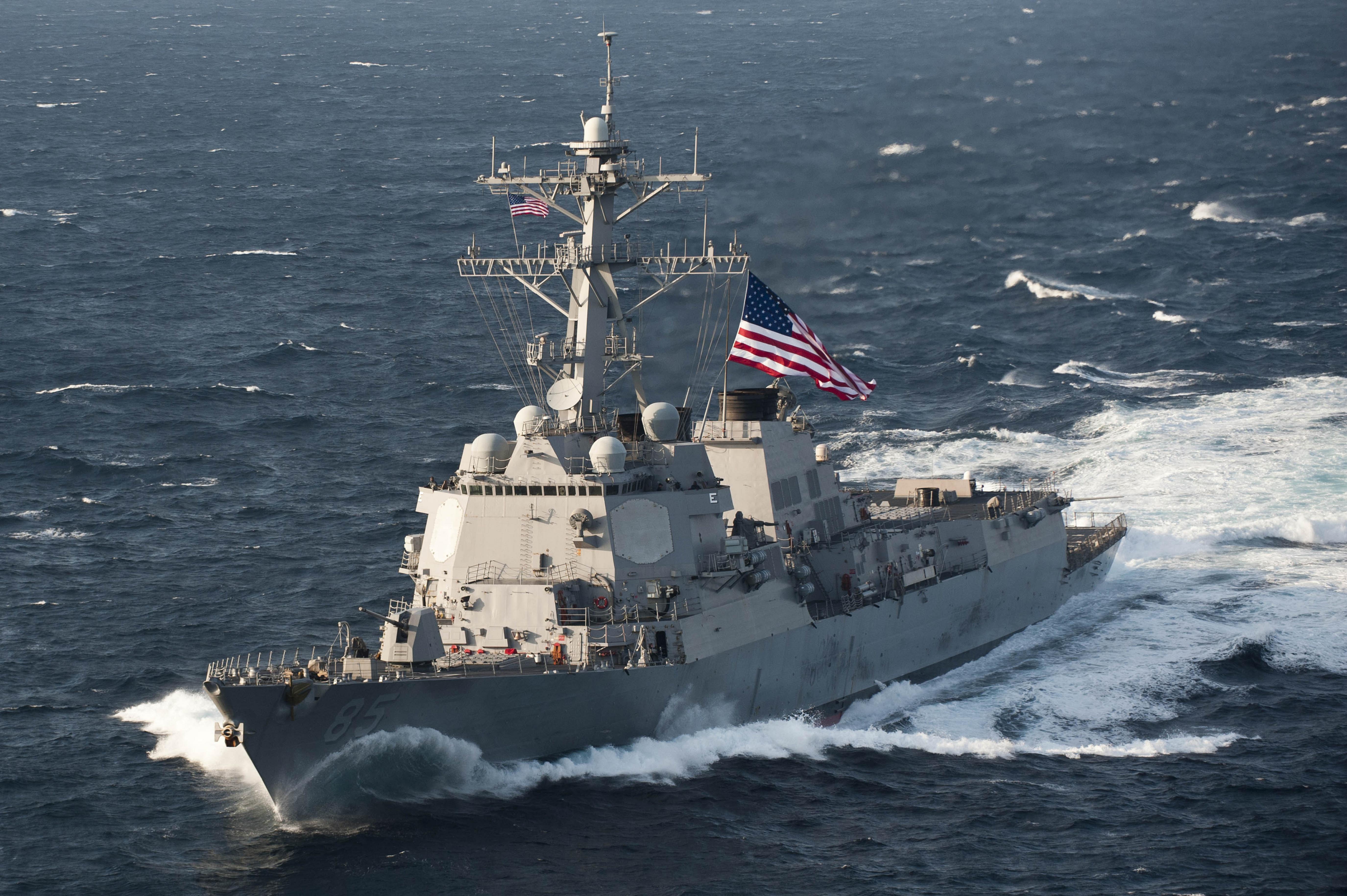Новая военная опция. ВМС США готовятся применять силу в чужих территориальных водах