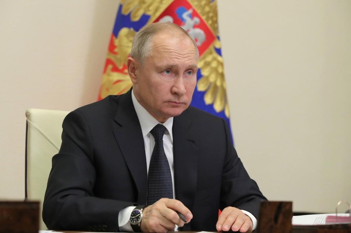Путин призвал совершить рывок в 2021 году