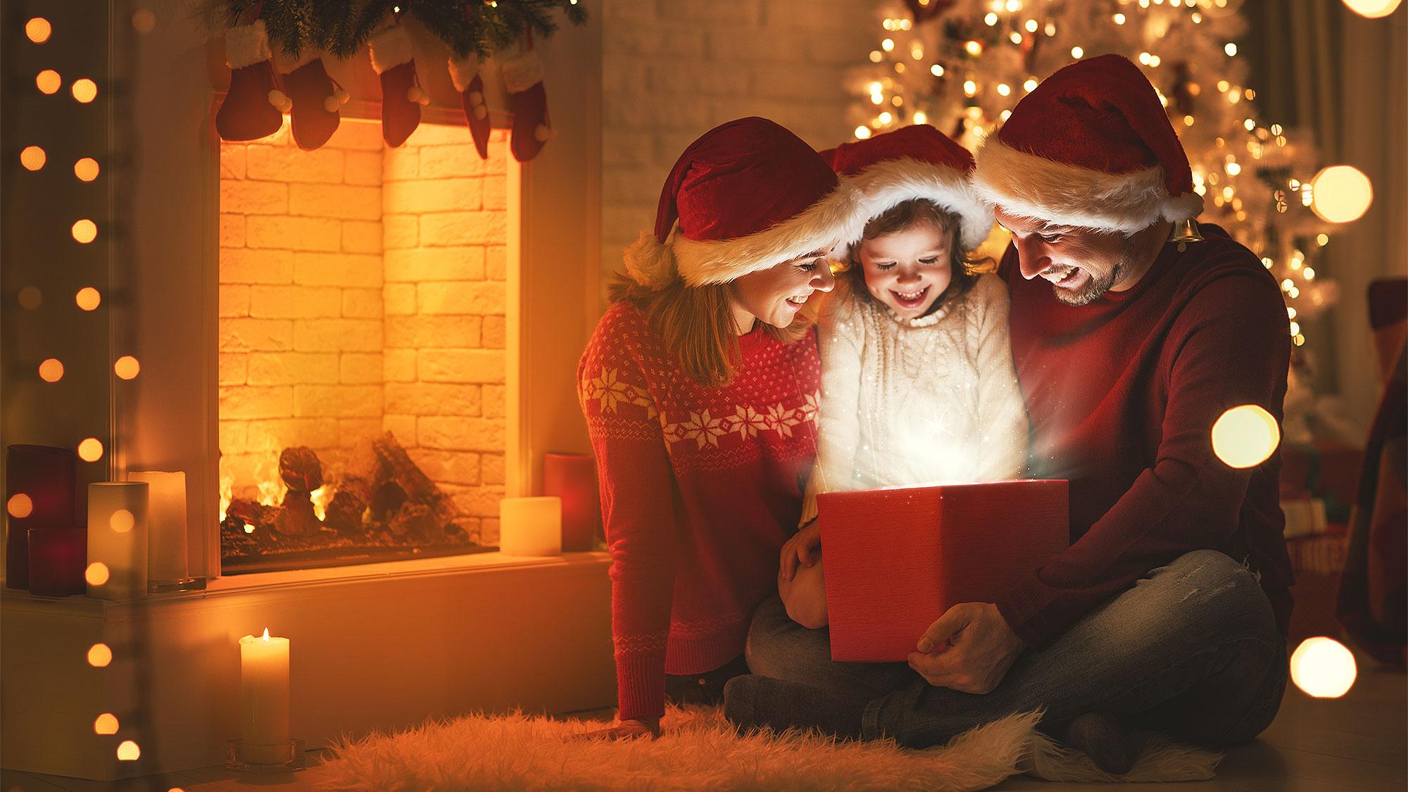 Идеи для новогоднего фотосета в домашних условиях