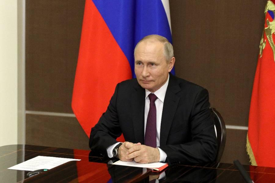 Путин поприветствовал участников и гостей конкурса 'Детская Новая волна — 2021'