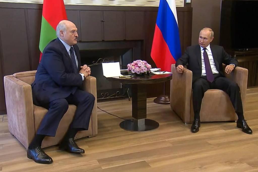 Путин и Лукашенко не поднимали вопрос перехода двух стран к единой валюте