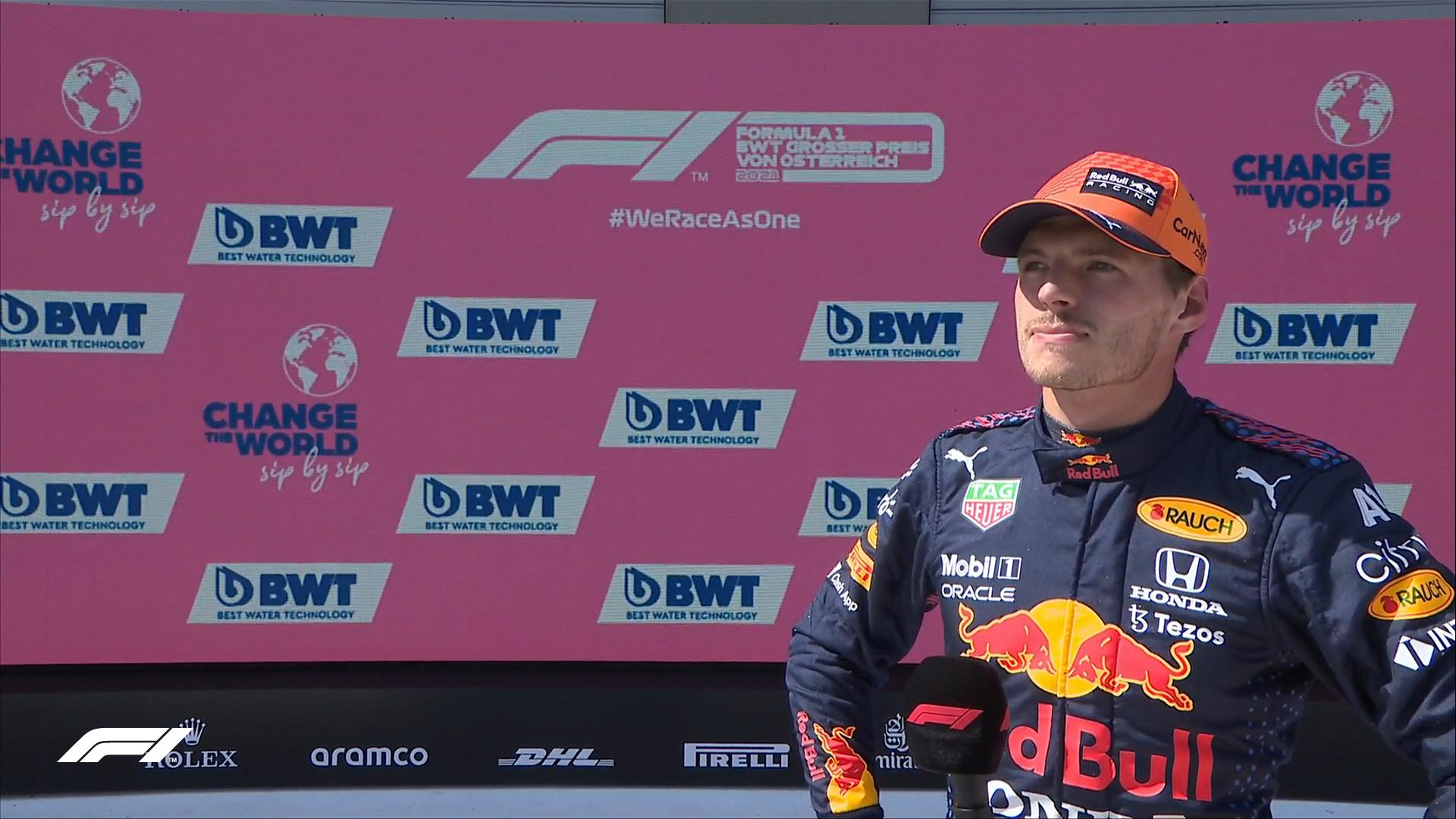 Ферстаппен третий раз подряд выиграл квалификацию в 'Формуле-1'