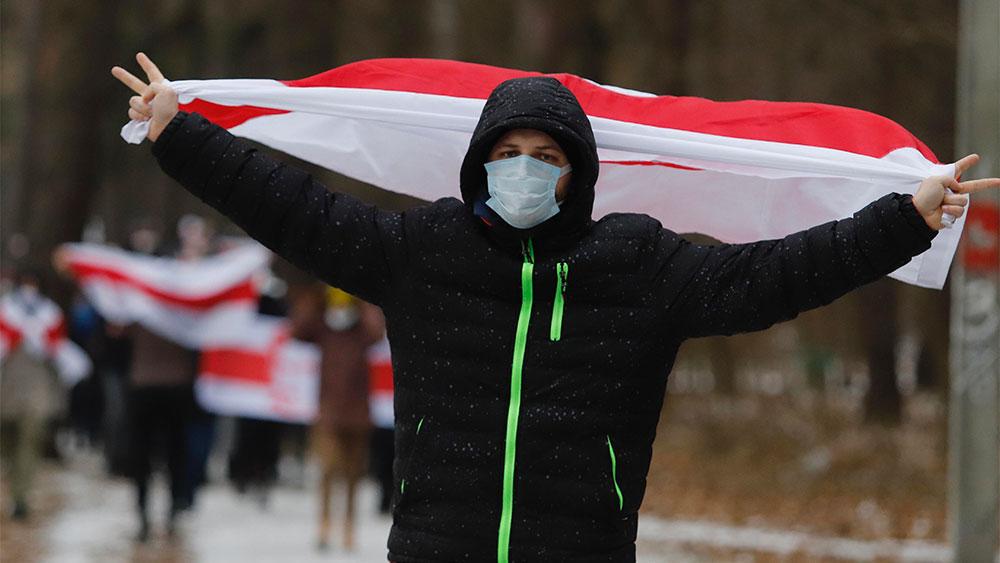 В Белоруссии расходится аудио о планах создания 'концлагерей для протестующих'