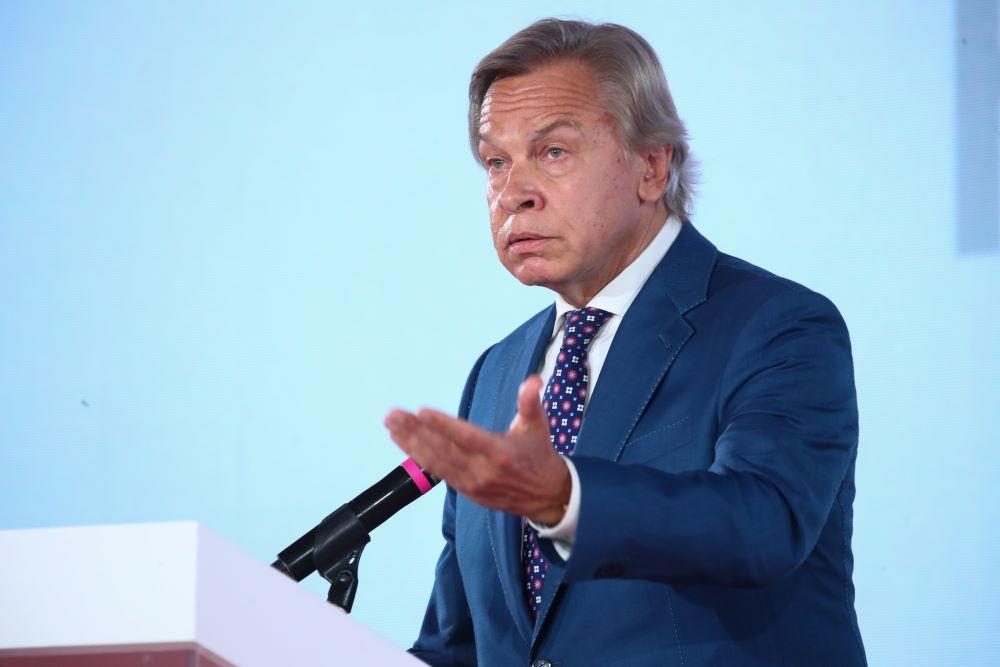 'Один из козырей'. Пушков объяснил, как Байден использует Украину против России