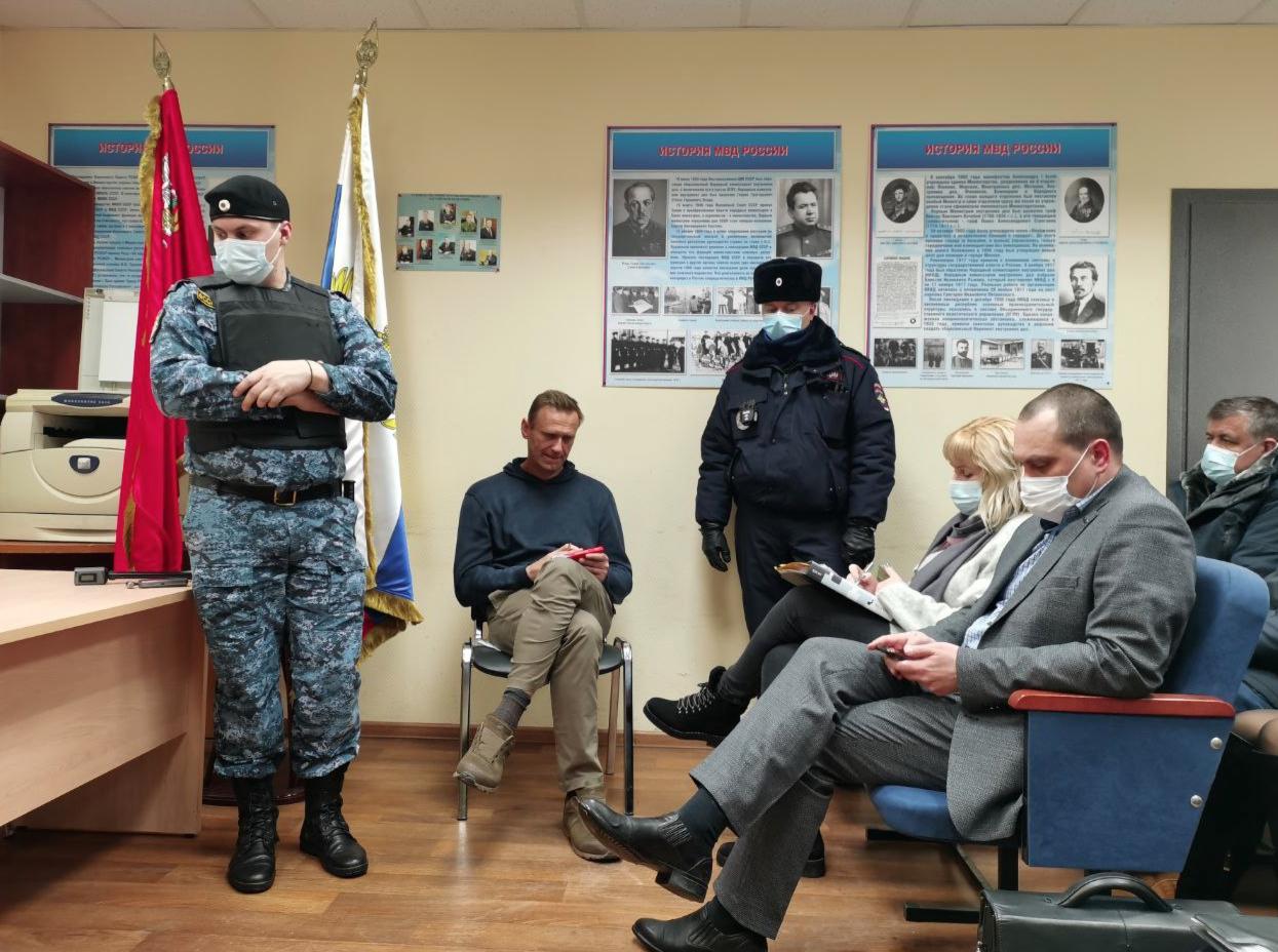 МВД просит арестовать Навального на 30 суток