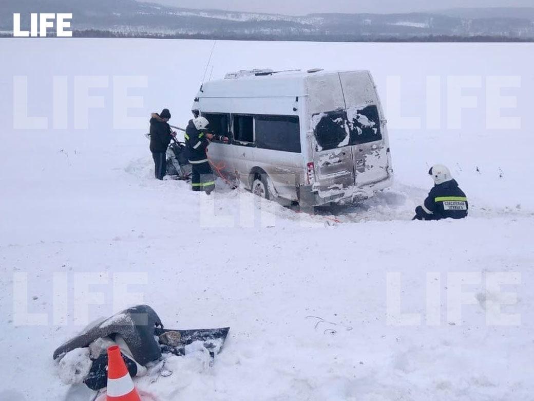СКР возбудил дело после ДТП с автобусами в Башкирии, где погибли дети