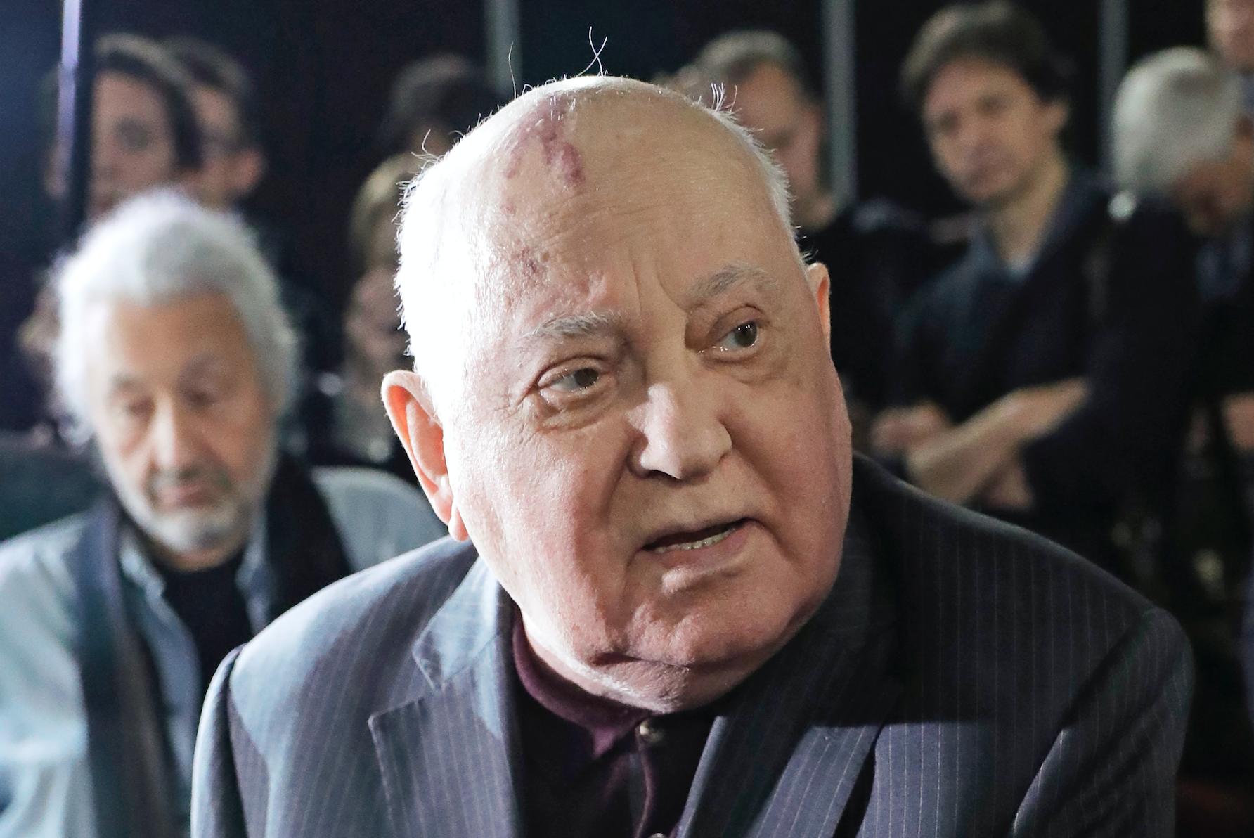 Горбачёв предложил обсудить с Байденом недопустимость ядерной войны