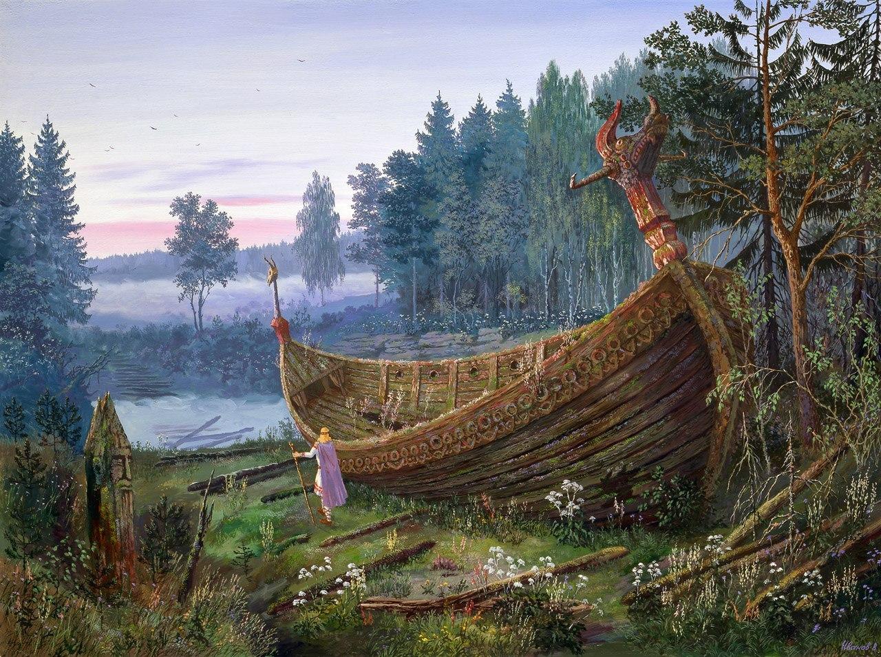 'Славянская Атлантида' затонула: где находилась и куда исчезла древняя столица славян