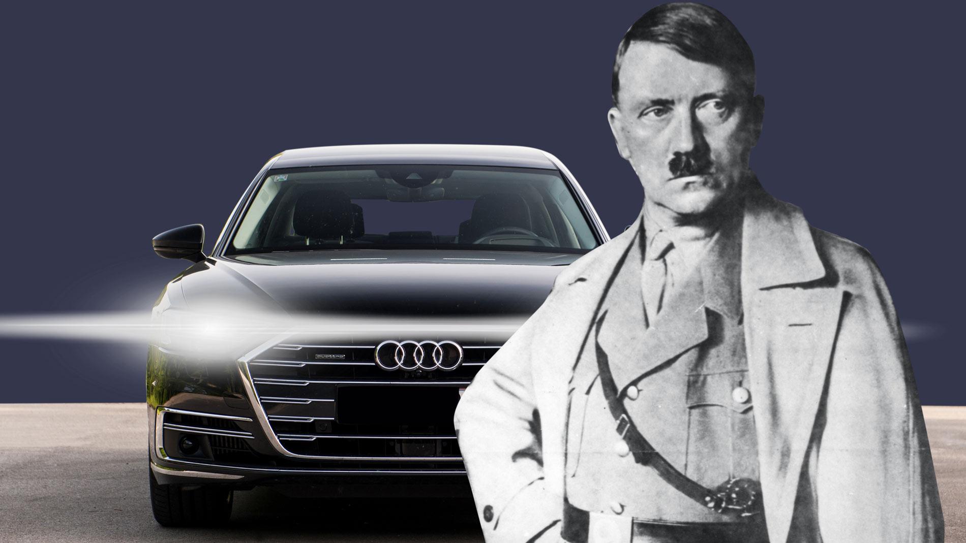 'Хорьх' против 'Майбаха'. Audi хочет возродить любимую марку машин Гитлера