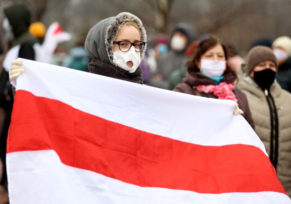 Прокуратура Белоруссии намерена признать бело-красно-белый флаг экстремистским