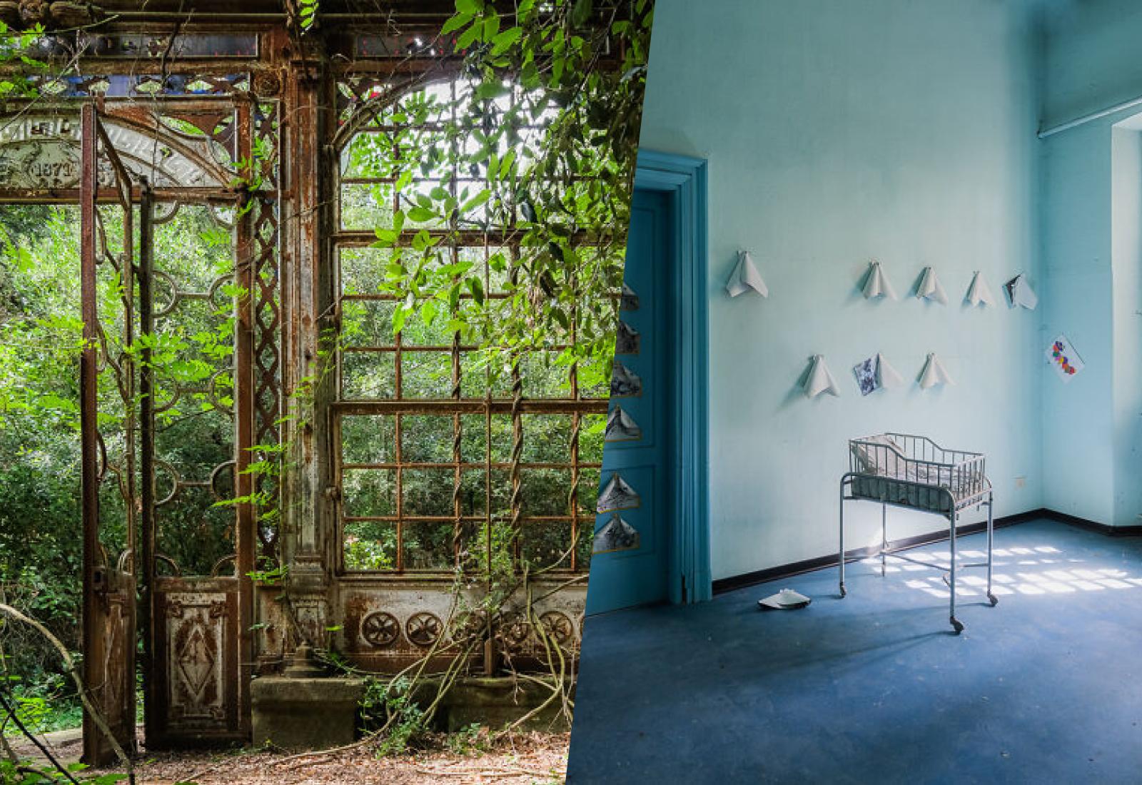 Заброшенная часть Италии, которую не покажут туристам: 10 жутко красивых кадров из опустевших зданий
