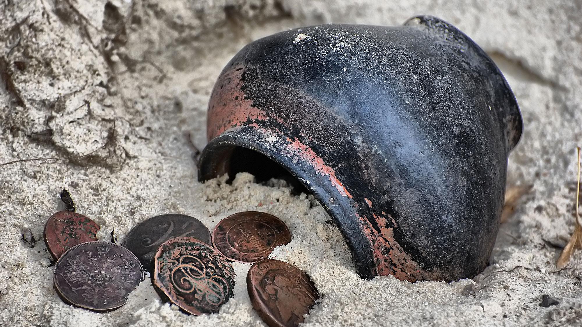 Миллионы, зарытые в землю. Какие сокровища и клады находили россияне в последнее время