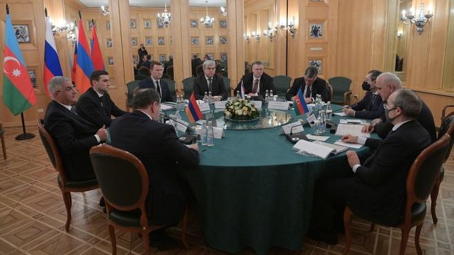 В Москве состоялось первое заседание трёхсторонней рабочей группы по Нагорному Карабаху