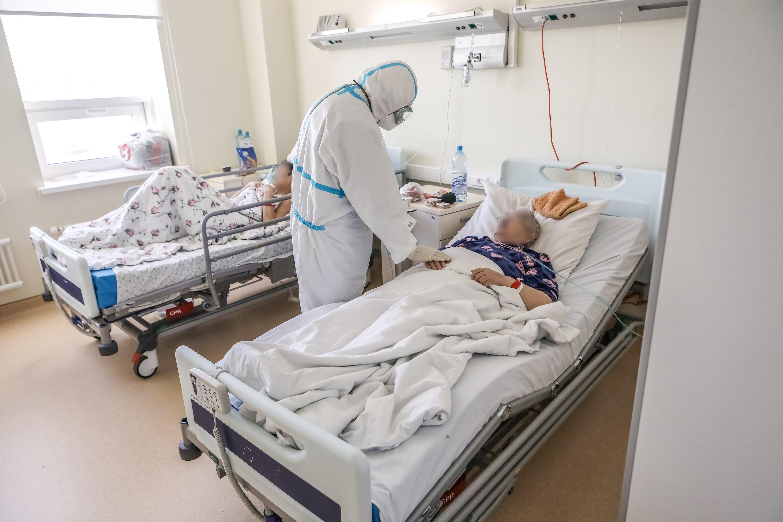 В России свободно 24% коечного фонда для пациентов с коронавирусом