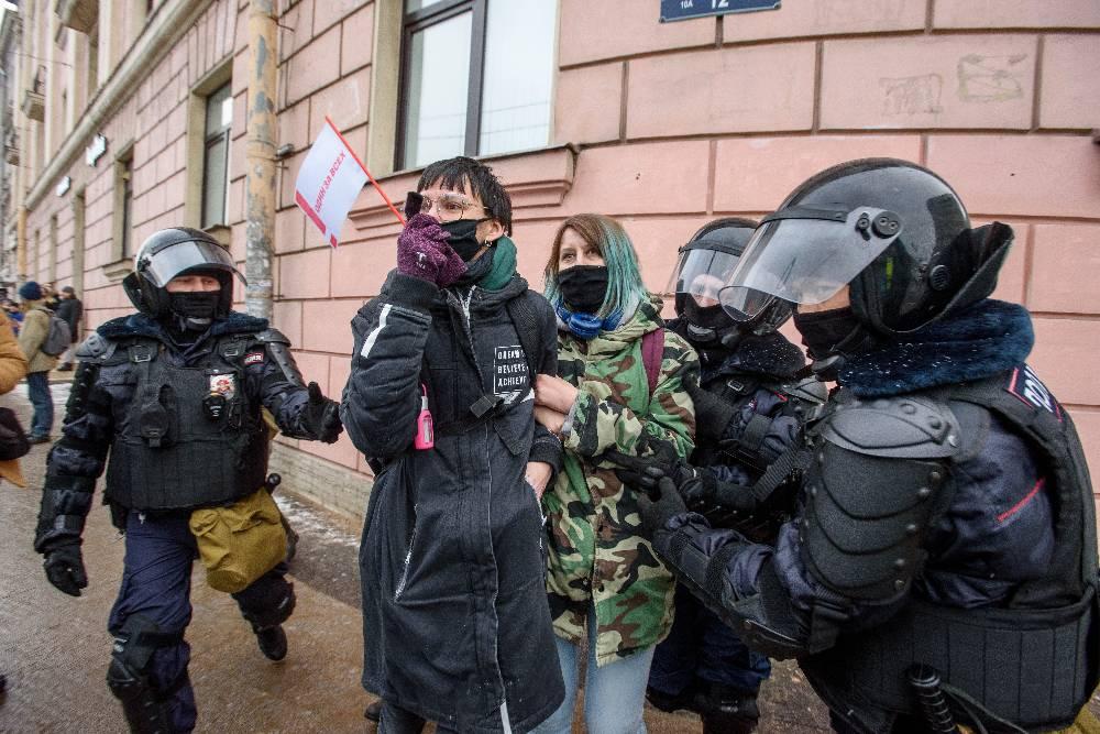 В США заявили, что не имеют отношения к незаконным митингам в России