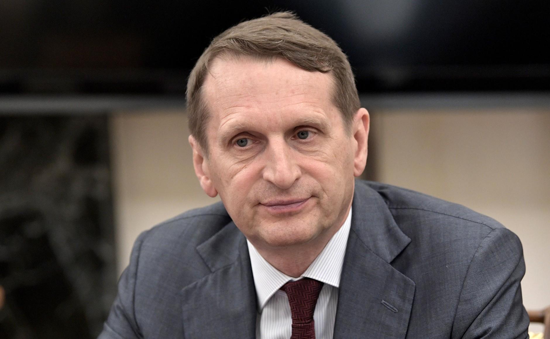 Нарышкин прокомментировал данные о связи оппозиции с иностранными спецслужбами