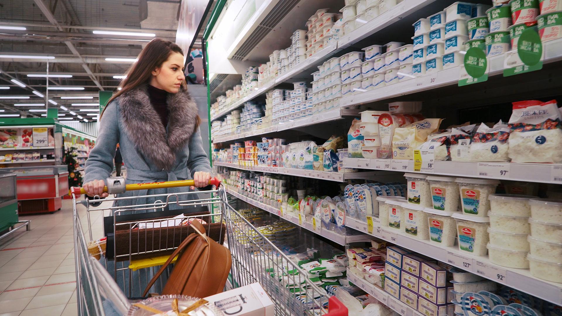 Оттепель в магазинах: выгодные акции на продукты в 'Пятёрочке', 'Дикси' и 'Магните'