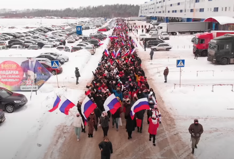 В Кремле открестились от акций в поддержку Владимира Путина