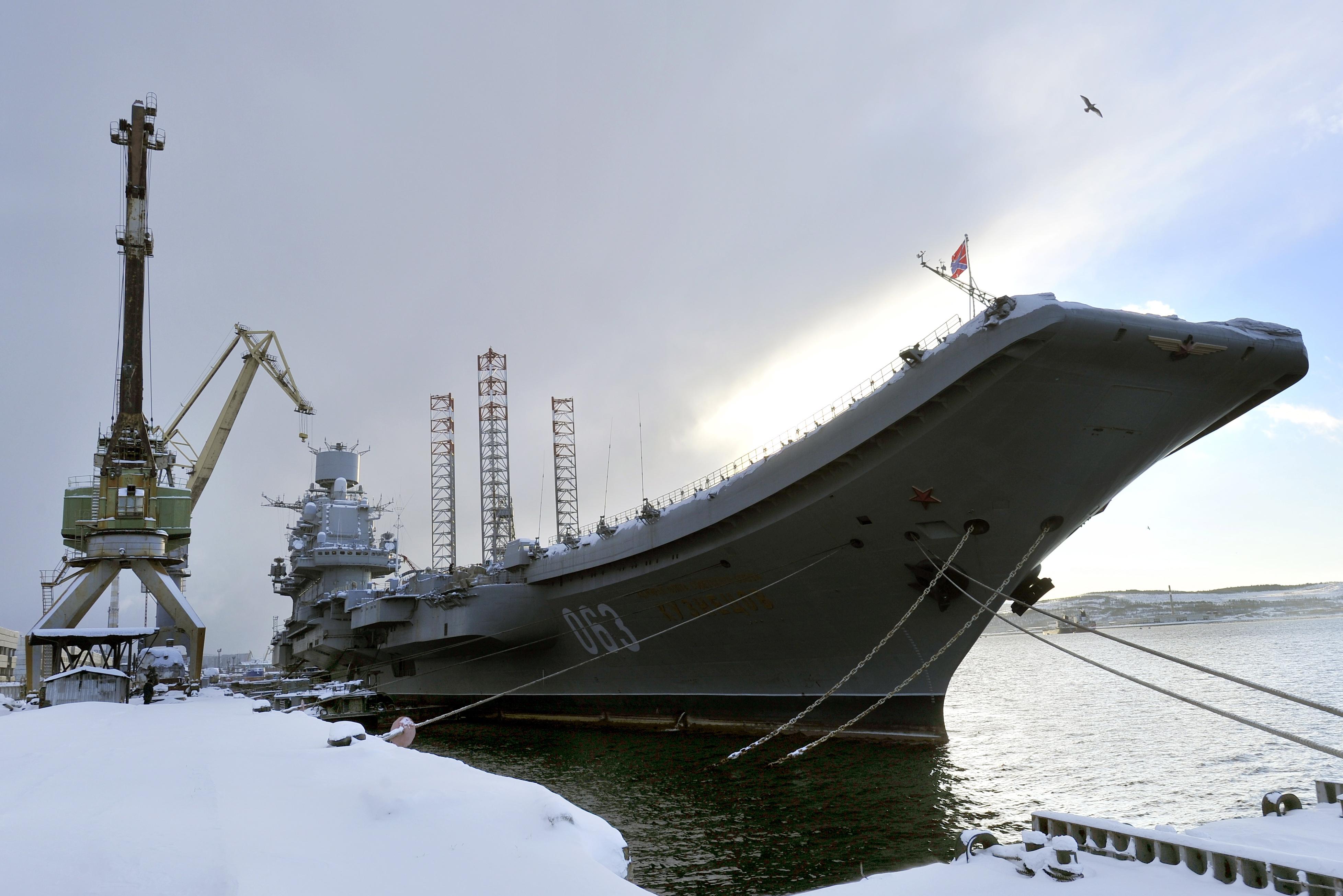Директор завода в Мурманске арестован по делу о хищении 45 млн при ремонте 'Адмирала Кузнецова'