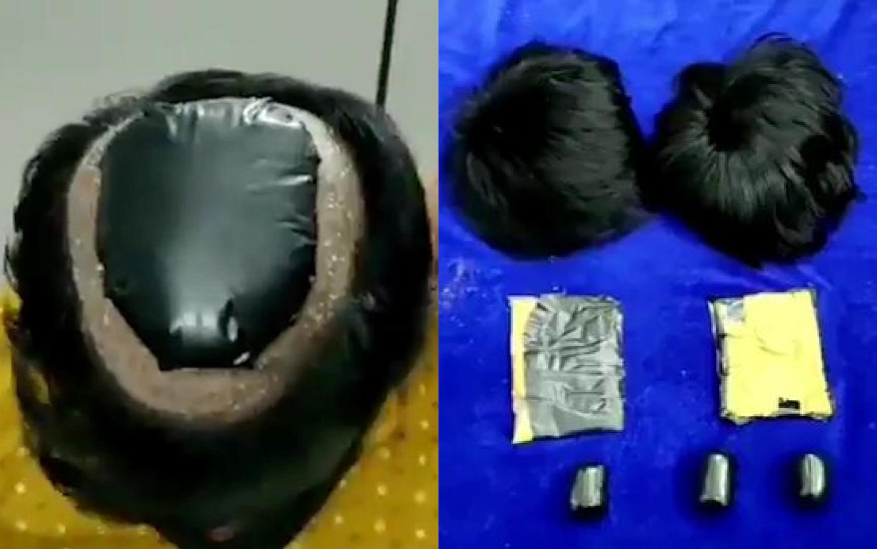 Контрабандисты поразили хитростью даже полицию, придумав, как спрятать золото на голове — видео