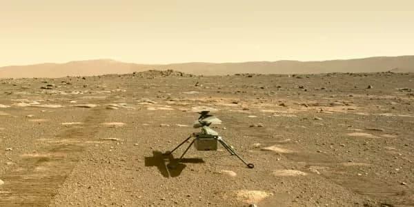 NASA вновь перенесло первый полёт вертолёта на Марсе