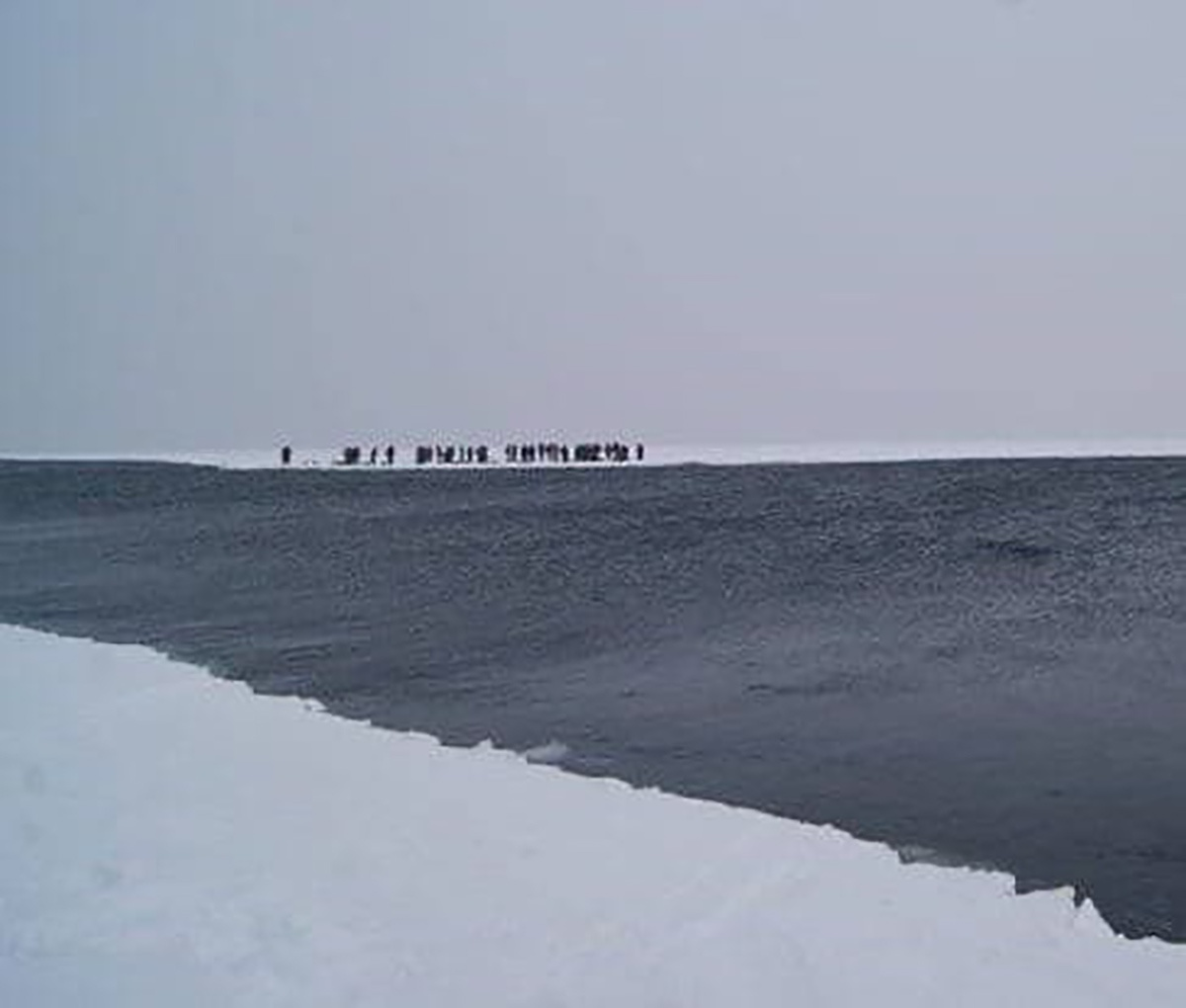 В Финском заливе на льдине дрейфуют 50 рыбаков. На помощь к ним спешат вертолёт, буксир и ледокол