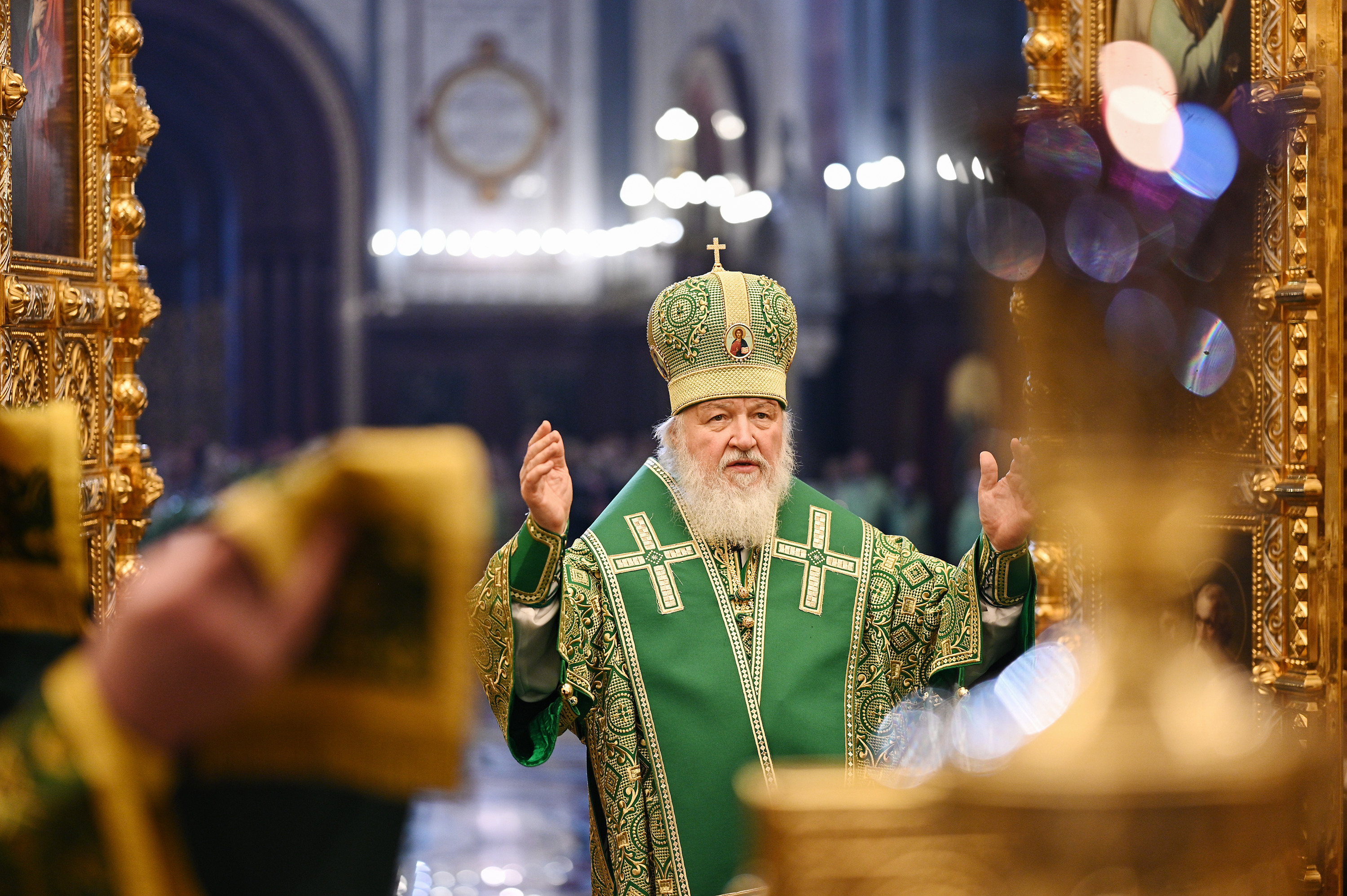 Глава РПЦ в преддверии Пасхи провел проповедь на неожиданную тему